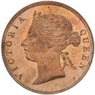One Cent 1889: Photo Proof Coin - 1 Cent, British Honduras (Belize), 1889