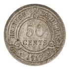 Fifty Cents 1919: Photo Coin - 50 Cents, British Honduras (Belize), 1919