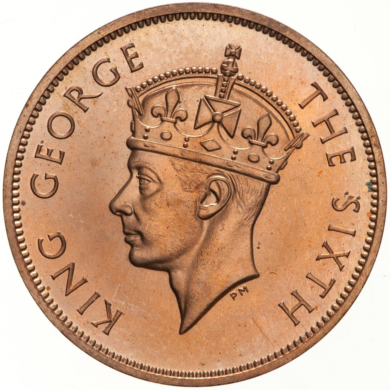 One Cent: Photo Proof Coin - 1 Cent, British Honduras (Belize), 1949