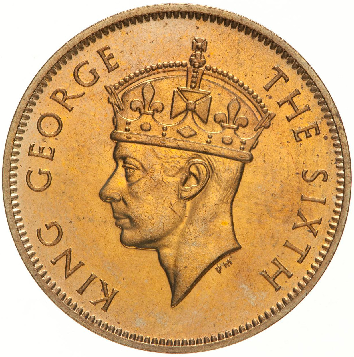 Five Cents: Photo Proof Coin - 5 Cents, British Honduras (Belize), 1949