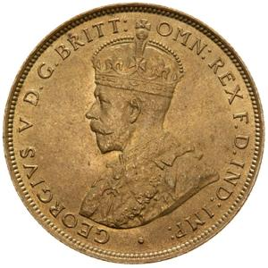 British West Africa / Two Shillings 1922 - obverse photo