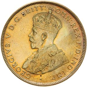 British West Africa / Two Shillings 1925 - obverse photo