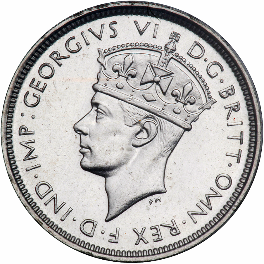 Threepence: Photo British West Africa 1938-KN 3 pence