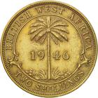 British West Africa / Two Shillings 1946 - reverse photo