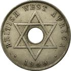 British West Africa / One Penny 1946 - obverse photo