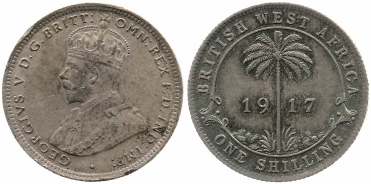 Shilling 1917: Photo One Shilling