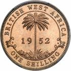 Shilling 1952: Photo British West Africa 1952-KN shilling