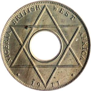 British West Africa / One-tenth Penny 1911 - reverse photo