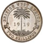 British West Africa / Two Shillings 1919 - reverse photo