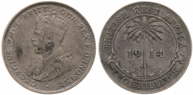 Two Shillings 1914: Photo Two Shillings