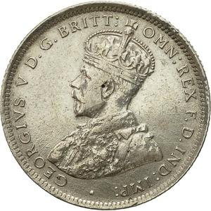 British West Africa / One Shilling 1919 - obverse photo