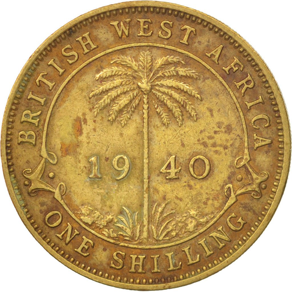 Shilling 1940: Photo Coin, British West Africa, Shilling, 1940