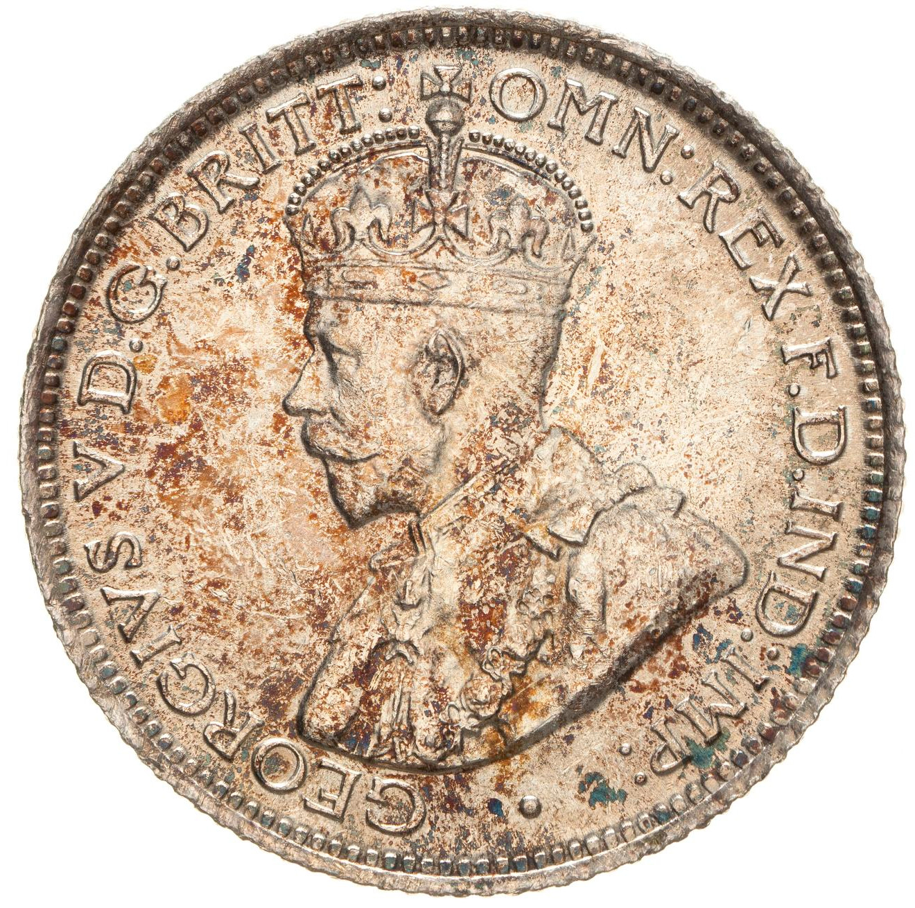 Sixpence (Sterling Silver): Photo Coin - 6 Pence, British West Africa, 1913