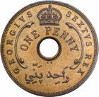 British West Africa / One Penny 1952 / Proof (King's Norton Metal Co.) - reverse photo