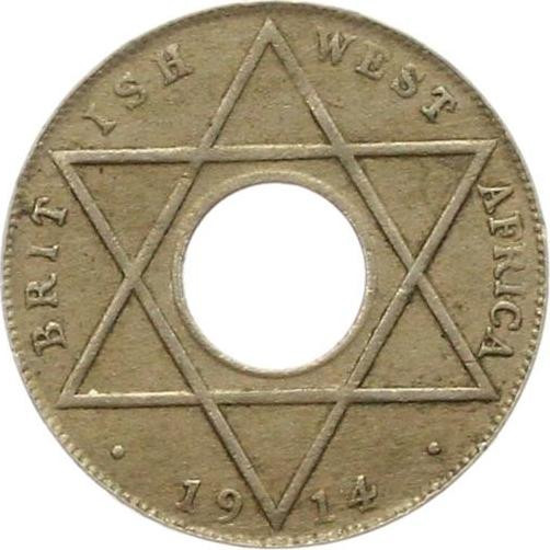 Halfpenny (George VI, CuproNickel): Photo British West Africa 1940-KN 1/2 penny