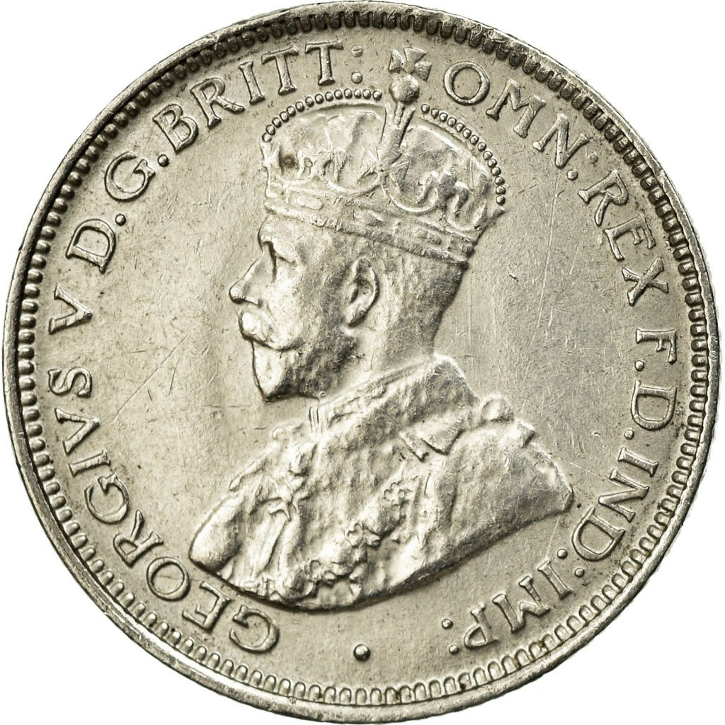 Sixpence 1919: Photo Coin, British West Africa, 6 Pence, 1919