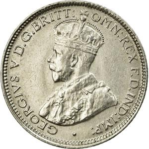 British West Africa / Sixpence 1919 - obverse photo