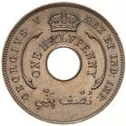 British West Africa / Halfpenny 1913 - obverse photo
