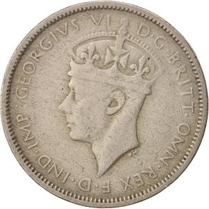 British West Africa / Threepence 1941 - obverse photo