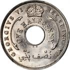 British West Africa / Halfpenny 1947 - obverse photo