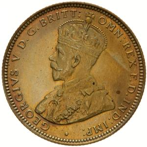 British West Africa / One Shilling 1925 - obverse photo
