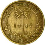 Shilling 1947: Photo One Shilling