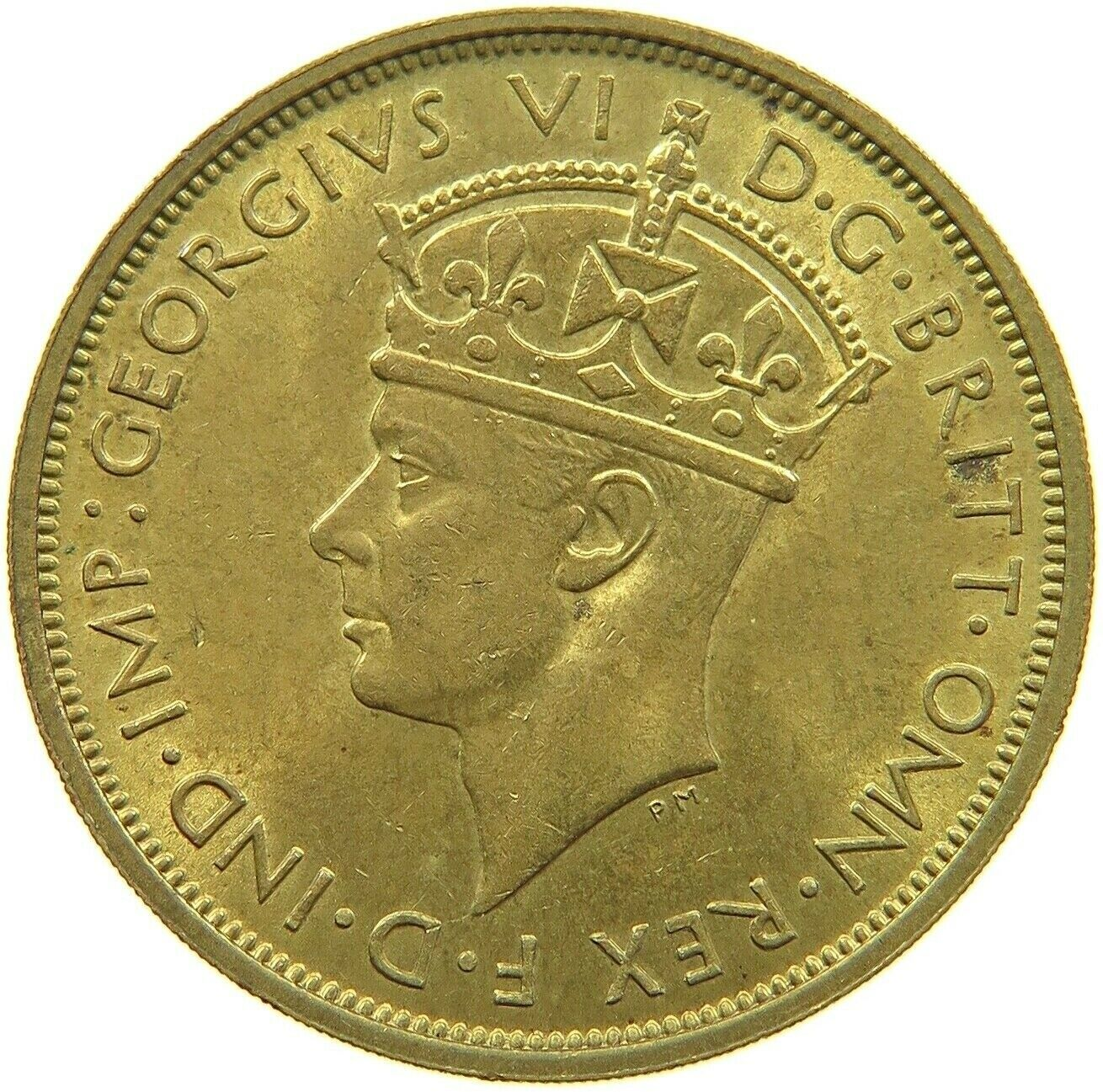Two Shillings 1939: Photo Coin, British West Africa, George VI, 2 Shillings, 1939