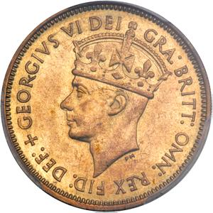 British West Africa / One Shilling 1951 - obverse photo