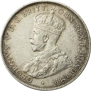 British West Africa / Two Shillings 1918 - obverse photo