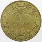 British West Africa / Two Shillings 1926 - reverse photo