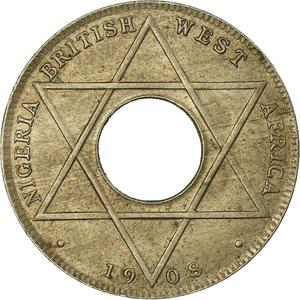 British West Africa / One-tenth Penny 1908 (CuproNickel) - reverse photo