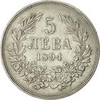 Five Leva 1894: Photo Bulgaria 5 Leva 1894