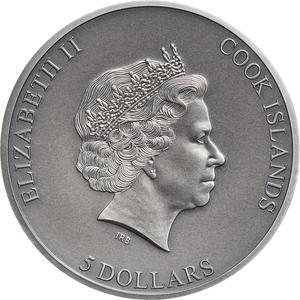 Cook Islands / Silver Ounce 2019 Trapped - obverse photo