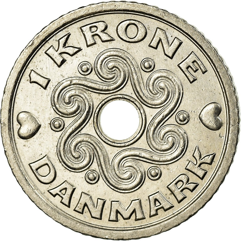 what is a 1 krone coin