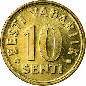 Estonia / Ten Senti - reverse photo