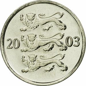 Estonia / Twenty Senti 2003 - obverse photo