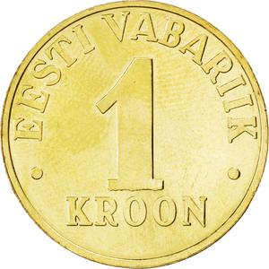 Estonia / One Kroon 2003 - reverse photo