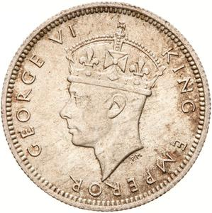 Fiji / Sixpence 1941 - obverse photo