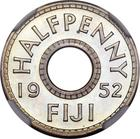 Fiji / Halfpenny 1952 / Proof - reverse photo