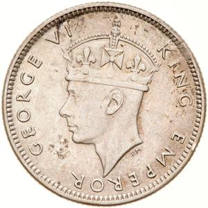Fiji / Sixpence 1943 - obverse photo