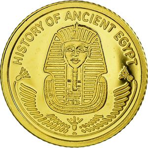 Fiji / Ten Dollars 2010 Ancient Egypt Tutankhamun - obverse photo