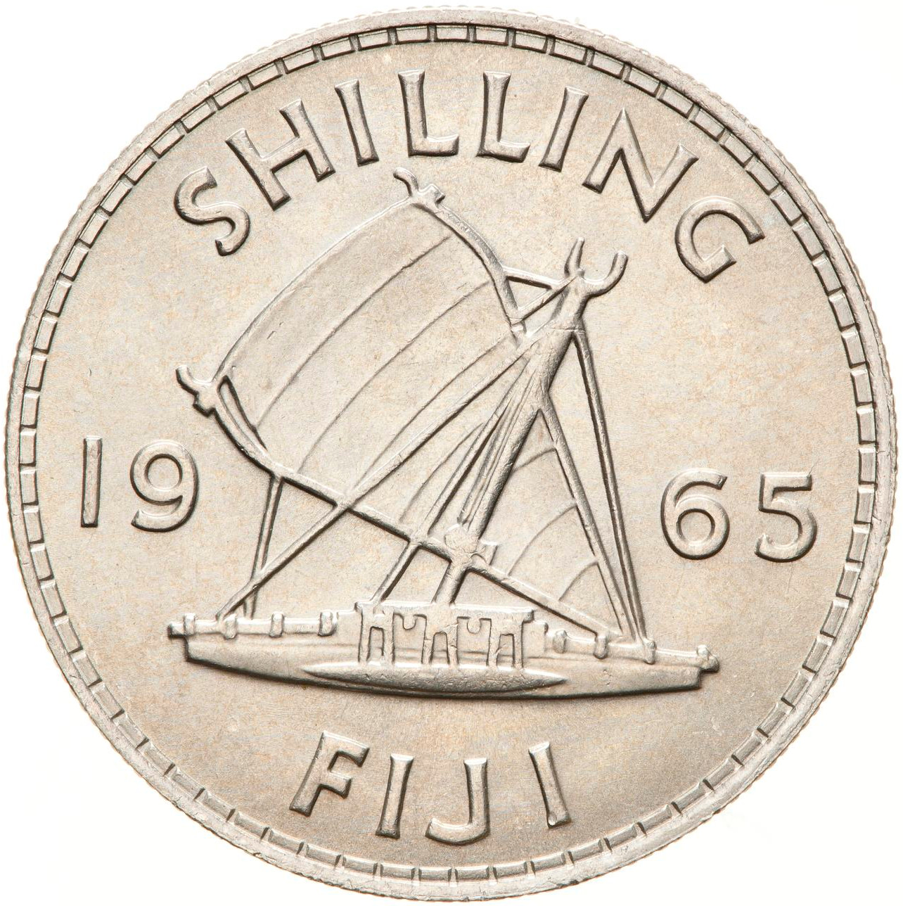 Shilling 1965: Photo Coin - 1 Shilling, Fiji, 1965