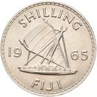 Fiji / Shilling 1965 - reverse photo