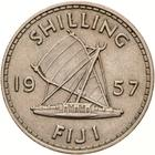Shilling 1957: Photo Coin - 1 Shilling, Fiji, 1957