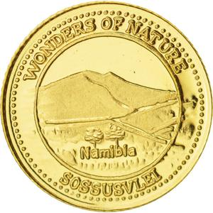 Fiji / Ten Dollars 2011 Gold Namibia - reverse photo