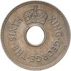 Penny 1950: Photo Coin - 1 Penny, Fiji, 1950