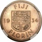 Fiji / Florin (0.500 Silver) - reverse photo