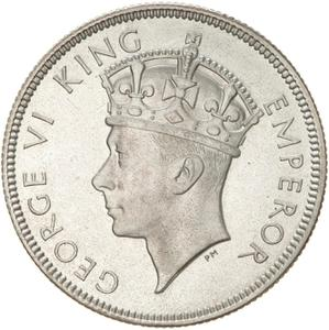 Fiji / Florin 1937 - obverse photo