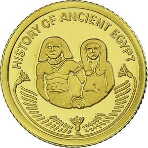 Fiji / Ten Dollars 2010 Ancient Egypt Sennefer - obverse photo