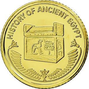 Fiji / Ten Dollars 2015 Ancient Sarcophagus - obverse photo